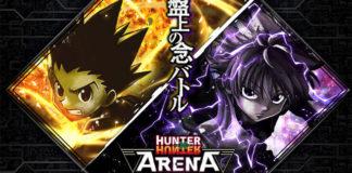 Imagem promocional de Hunter x Hunter Arena Battle