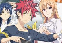 Imagem promocional de Shokugeki no Souma 4