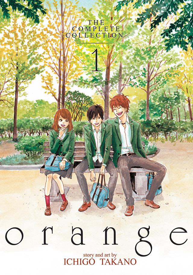 Mangá Orange termina no 7º volume