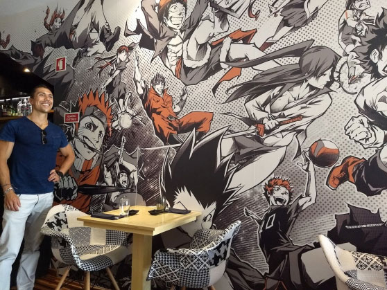 Mangá Sushi House inaugura Exposição de Arte
