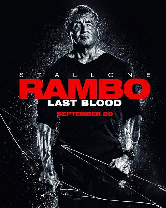 Novo Póster de Rambo: Last Blood