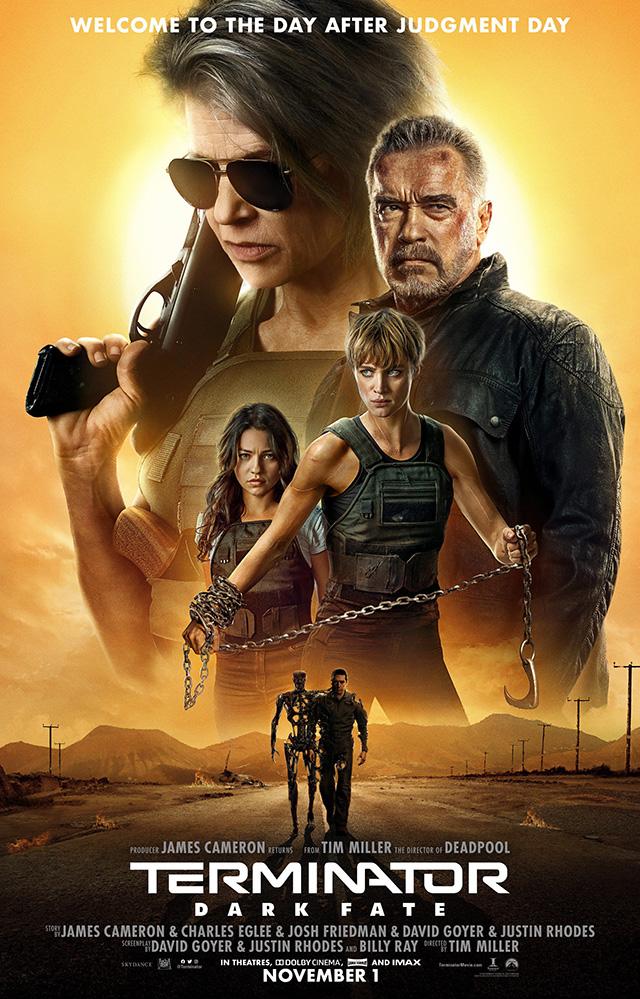 Novo Póster de Terminator: Dark Fate