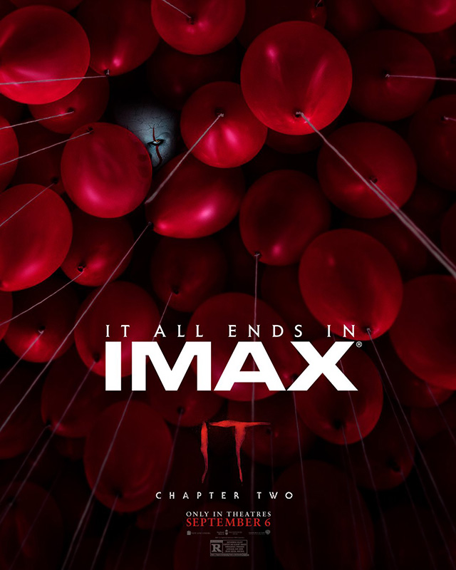Póster IMAX de IT: Chapter Two