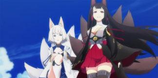 Trailer da série anime de Azur Lane
