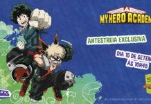 Antestreia My Hero Academia 2 em português na Comic Con Portugal 2019