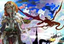 Arte conceitual do próximo projeto do diretor de Bayonetta 2