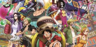 Filme anime One Piece: Stampede na Comic Con Portugal 2019