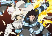 Imagem promocional da 2ª parte de Fire Force