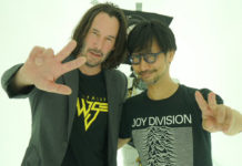 Keanu Reeves na Kojima Productions