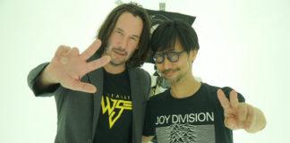 Keanu Reeves na Kojima Productions