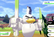 Novo Pokémon Sirfetch'd em Pokémon Sword