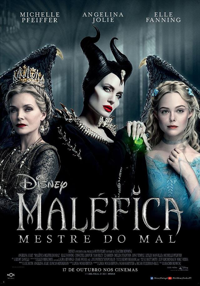 Poster de Maléfica Mestre do Mal