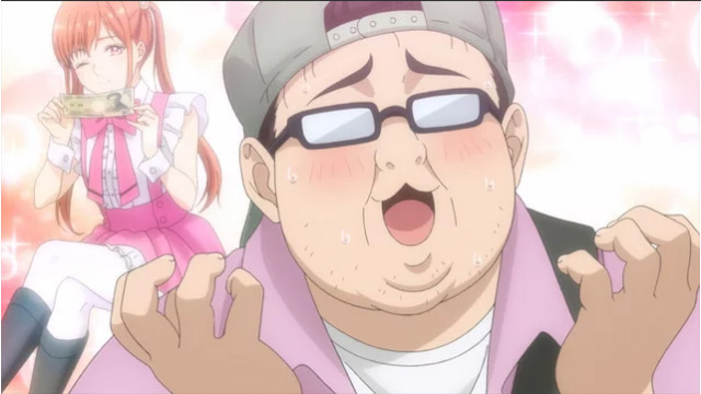 Tomoaki Maeno é Kumasa, um otaku de idols fã das ChamJam