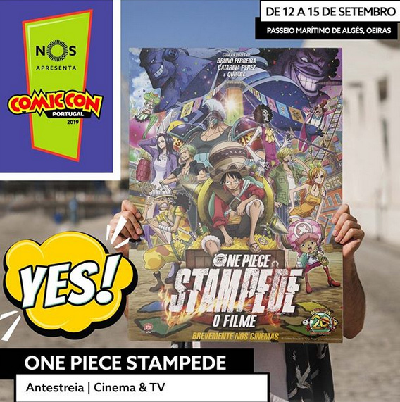 One Piece: Stampede na Comic Con Portugal 2019