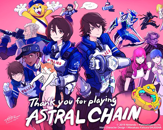 Platinum Games celebra sucesso de Astral Chain