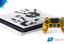 Playstation 4 Pro de Death Stranding