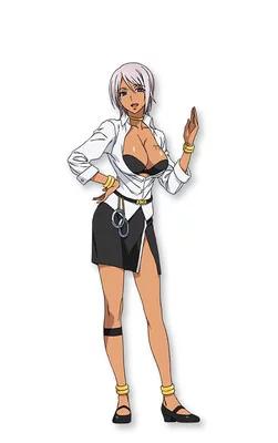 Shizuka Itou como Nana, uma bela animada que administra uma taberna itinerante