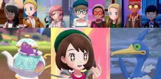 Pokémon Camp em Pokémon Sword e Pokémon Shield
