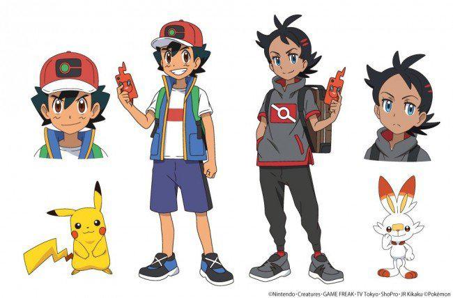 Primeiras imagens do reboot de Pokémon