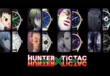 Relógios de Hunter x Hunter