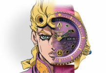 Relógios de JoJo's Bizarre Adventure: Golden Wind