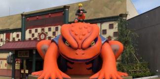 Vídeo do parque temático de Naruto no Japão
