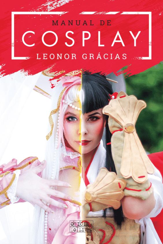 Livro O Manual de Cosplay por Leonor Grácias