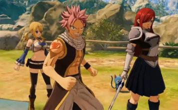 20 minutos de gameplay do RPG de Fairy Tail