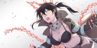 Auch! 1º volume DVD/BD de Fire Force vendeu 107 cópias
