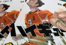 Mangá de Haikyu!! com mais de 35 milhões de cópias