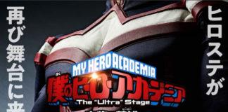 Nova peça de teatro de My Hero Academia em 2020