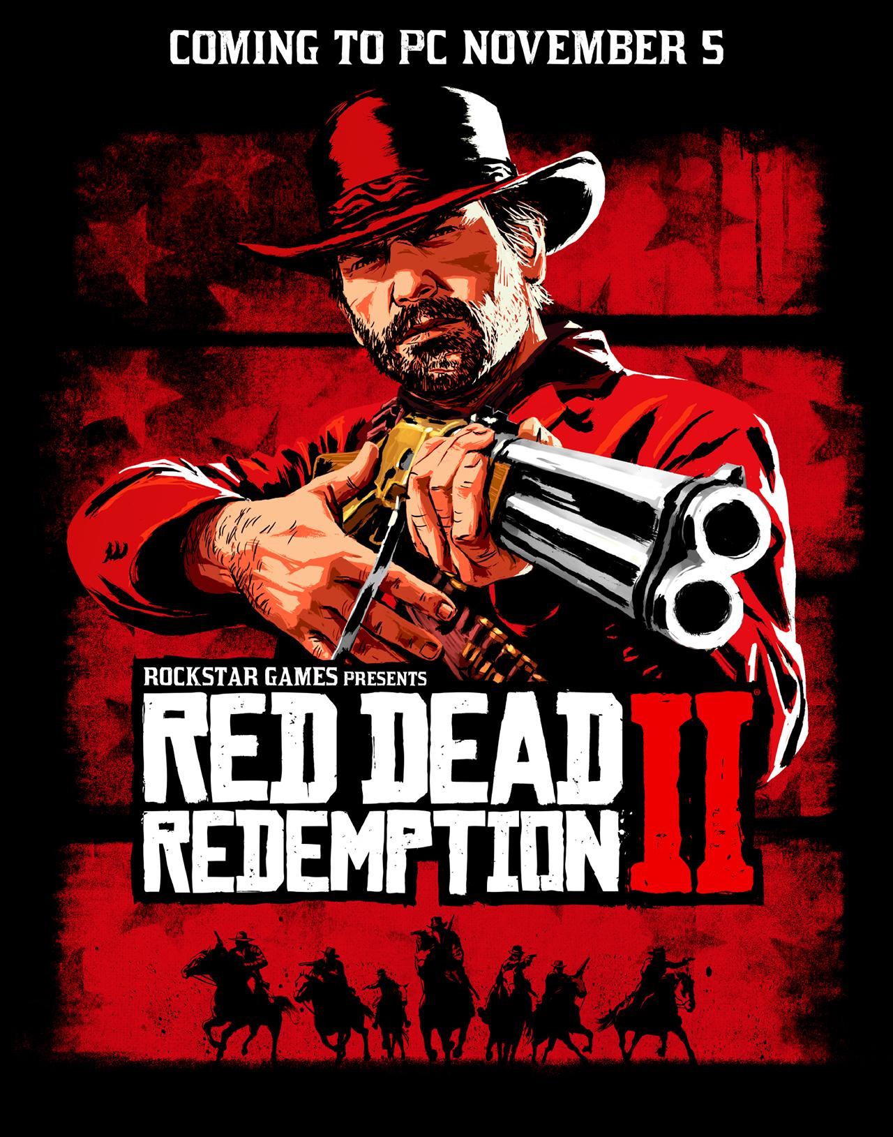 Imagem promocional de Red Dead Redemption 2 no PC