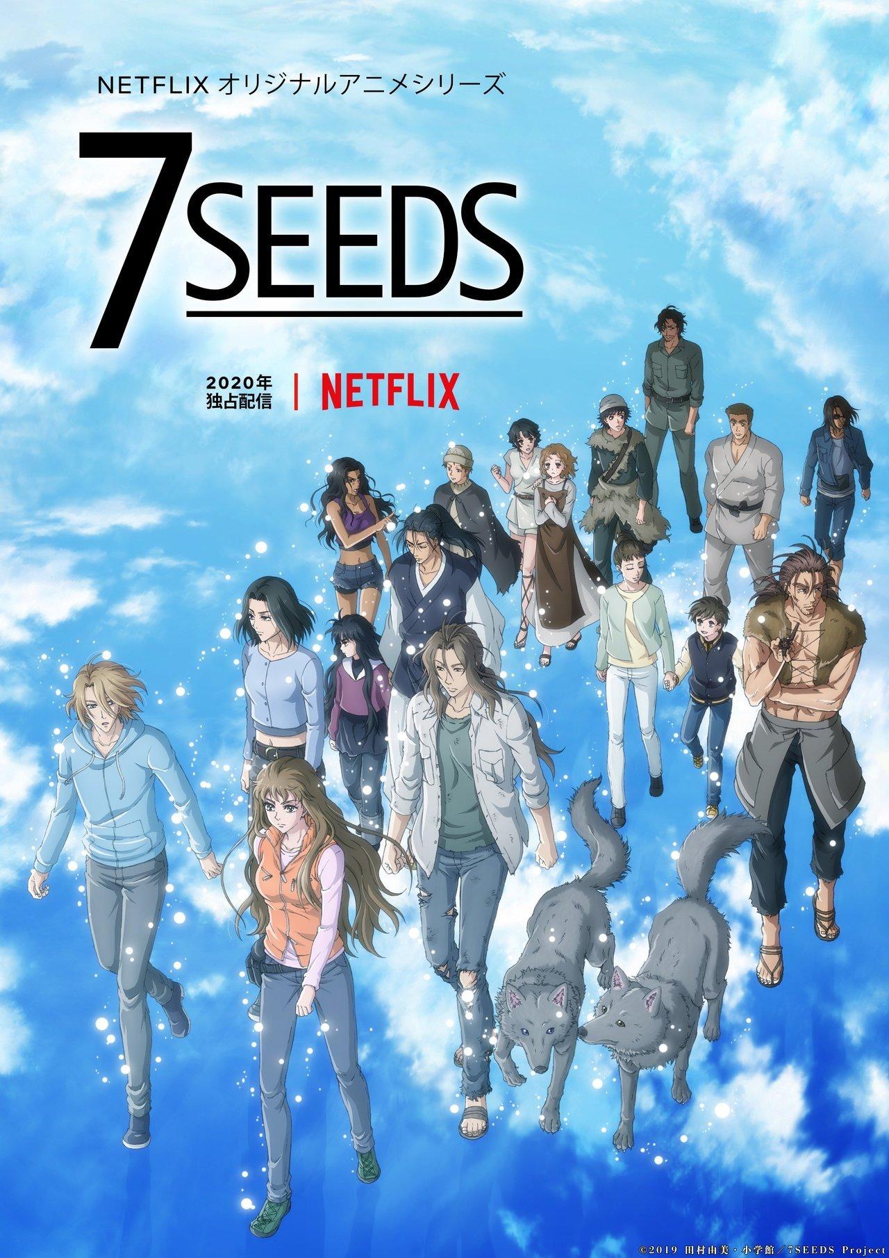 Imagem promocional de 7SEEDS 2