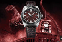 Seiko vai lançar relógio de Godzilla