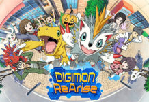 Trailer de lançamento no Ocidente de Digimon ReArise