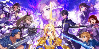 Trailers de Sword Art Online: Alicization Rising Steel