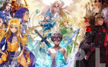 Arte da BOX de Sword Art Online: Alicization – War of Underworld