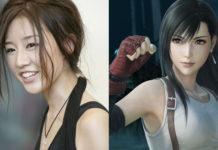 Ayumi Ito como Tifa Lockhart em Final Fantasy