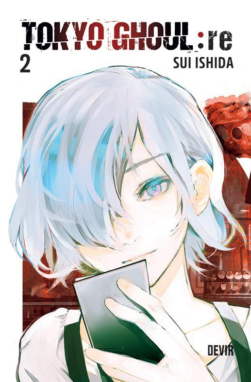 Devir vai lançar Tokyo Ghoul:re 02