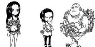 Eiichiro Oda desenha personagens de One Piece como crianças