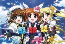 Imagem promocional dos 15 anos de Magical Girl Lyrical Nanoha