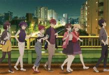 Mais uma imagem promocional do filme de Saekano
