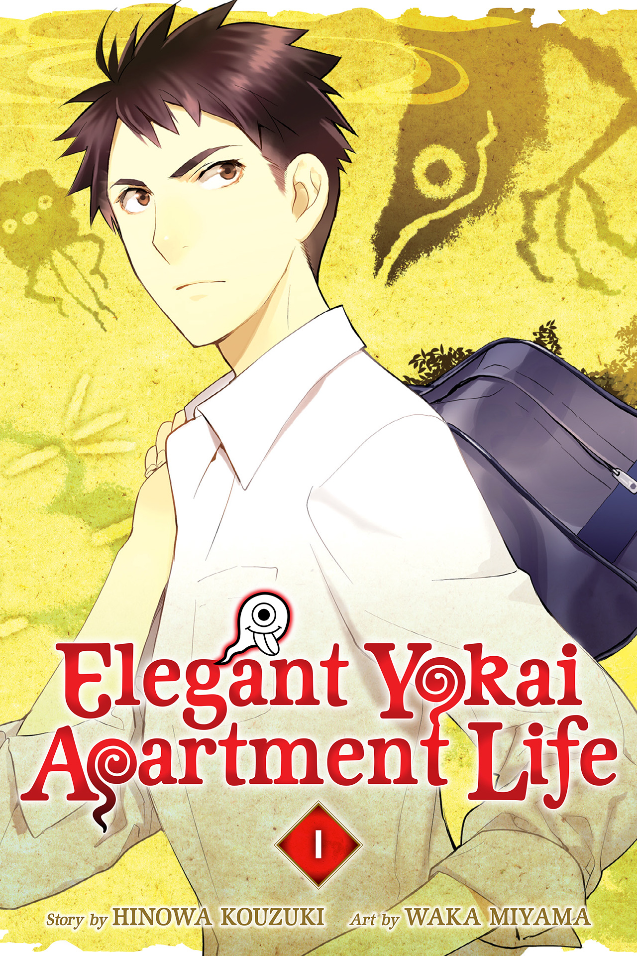 Capa do volume 1 de Elegant Yokai Apartment Life