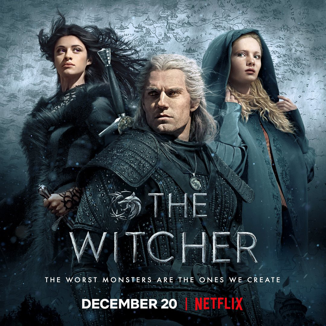 Poster de The Witcher