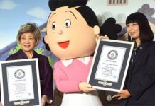 Sazae-san estende o recorde mundial do Guinness para maior série anime
