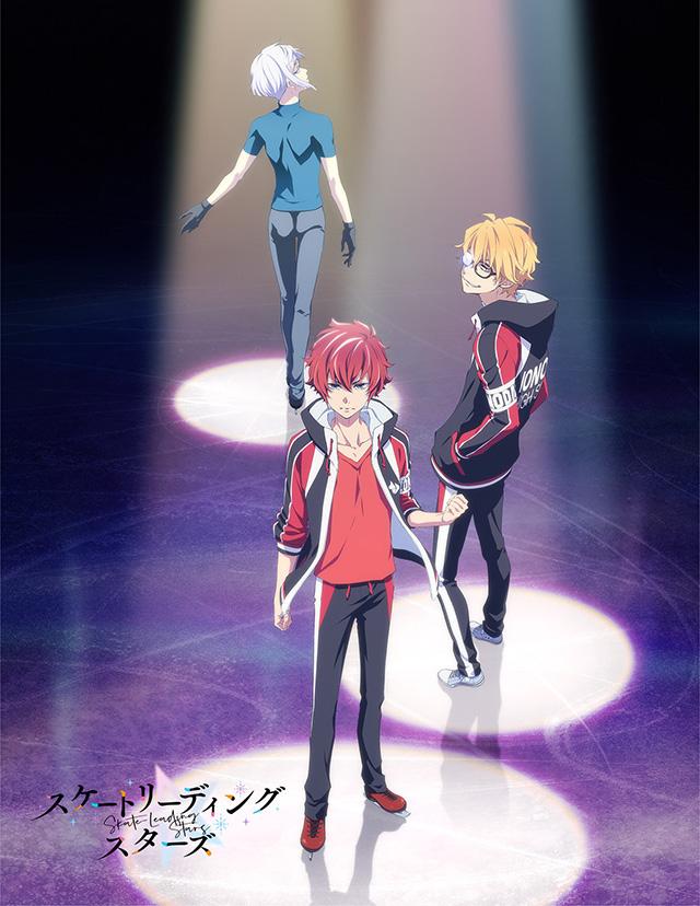 Imagem promocional do anime original de patinagem Skate-Leading☆Stars