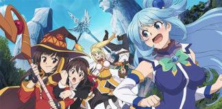 DVD/BD do filme de KonoSuba a 25 de Março 2020