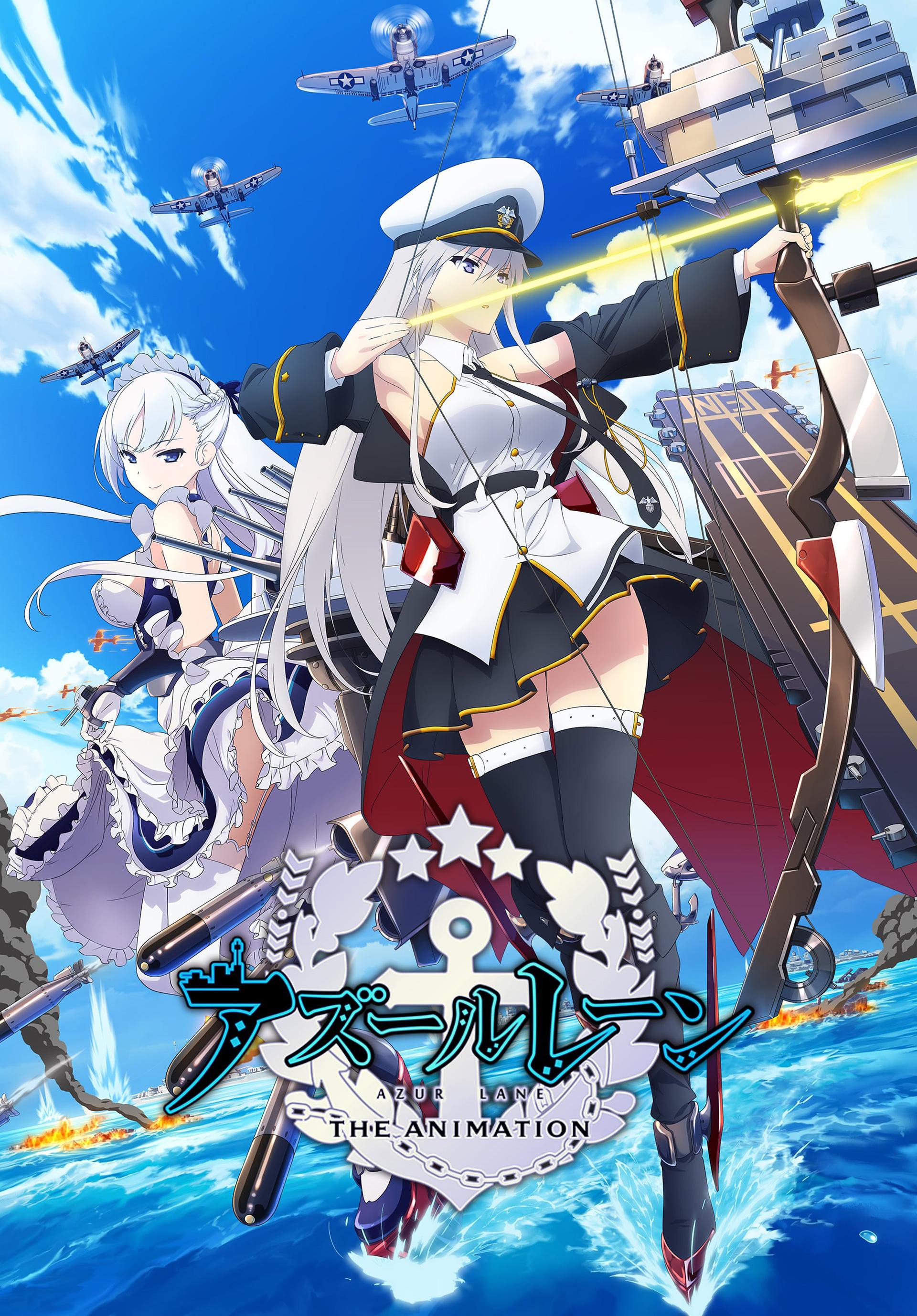 Imagem promocional da série anime de Azur Lane