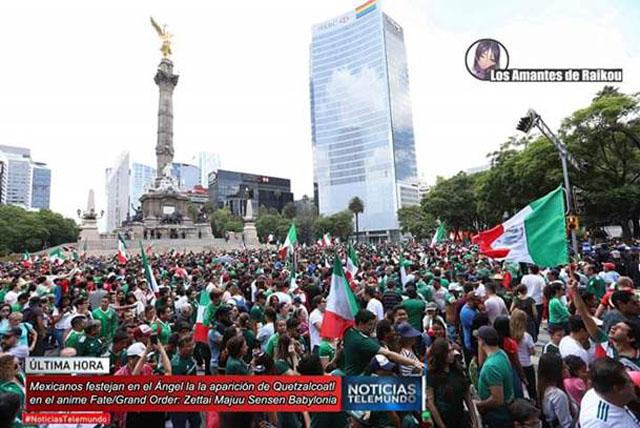 Enquanto isso no México.