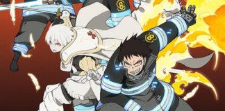 Fire Force vai terminar com episódio duplo